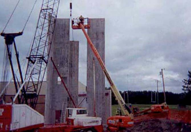 tilt up panel construction Insulated tilt-up walls designed to be the fastest method available for building a concrete tilt-up structure, tilt-deck® saves builders time, labor and money in the forming, tilt-up and finishing steps.