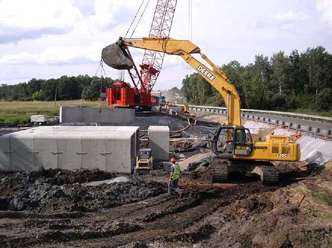 Hammerlund Construction Box Culvert Installation
